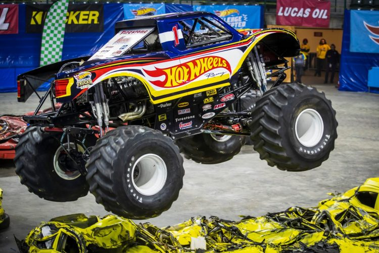 Dominik Wilde Hot Wheels Monster Trucks Live Kicks Of Maiden Euro Tour In Manchester